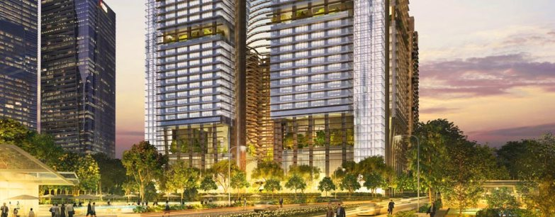 saleapartmentsingapore - Marina One resiences frontage