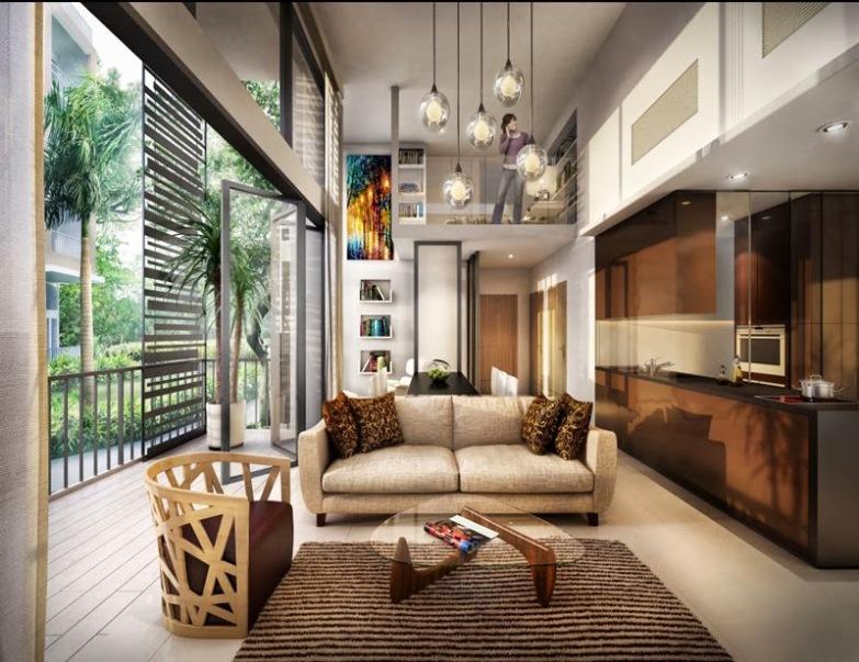saleapartmentsingapore - the creek living room