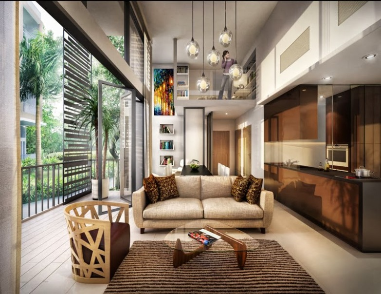 saleapartmentsingapore - the creek living room