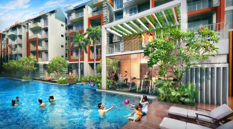 saleapartmentsingapore - the creek pool