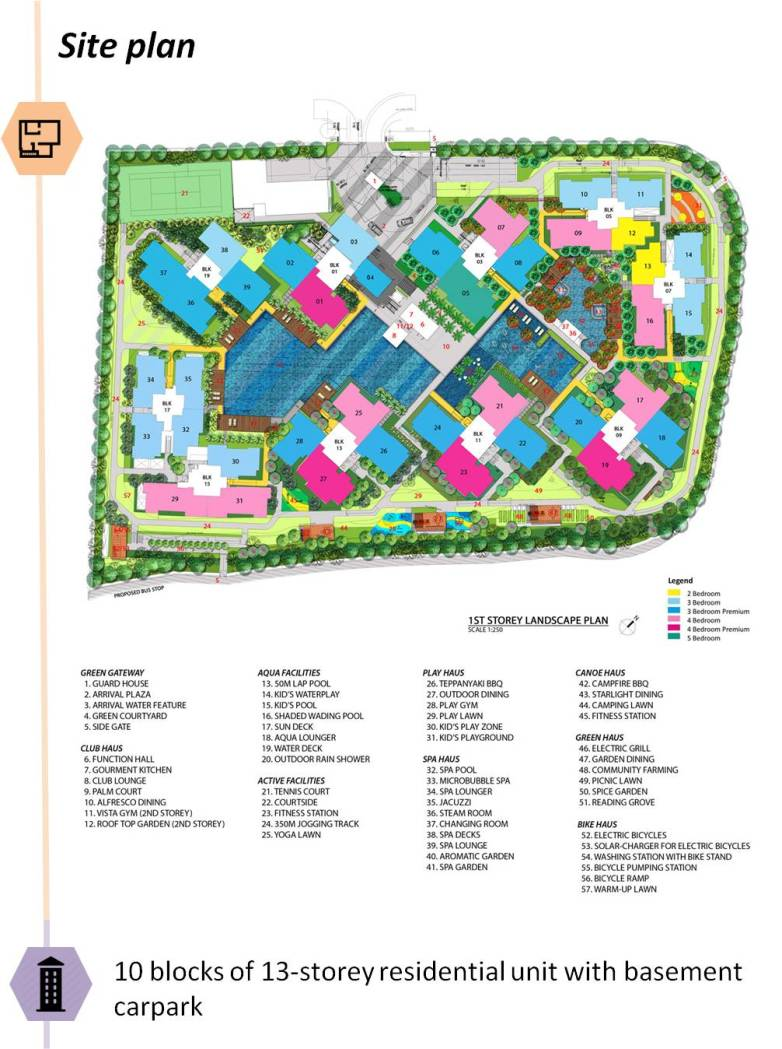 saleapartmentsingapore - the criterion site plan