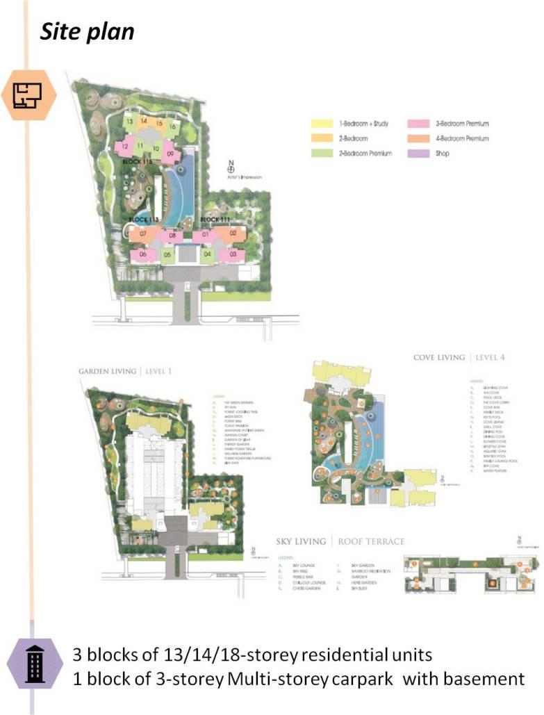 saleapartmentsingapore - trilive site plan