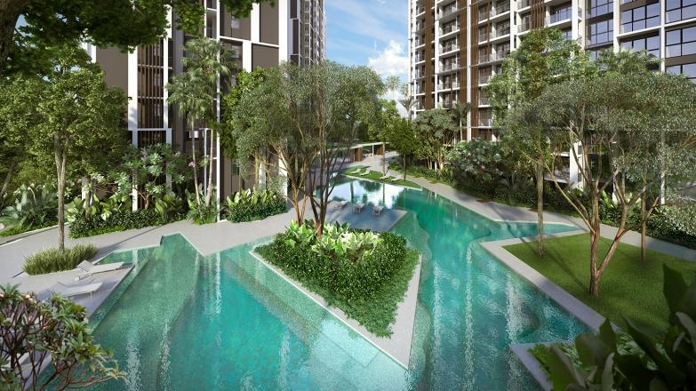 saleapartmentsingapore - botanique pool view
