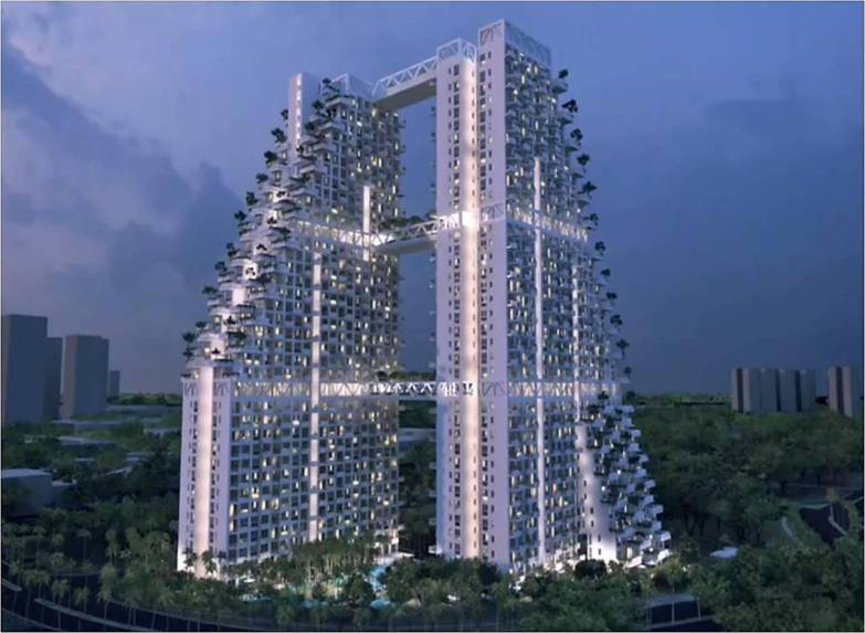 saleapartmentsingapore - Sky Habitat Night view