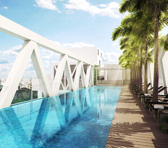 saleapartmentsingapore - sky habitat pool view