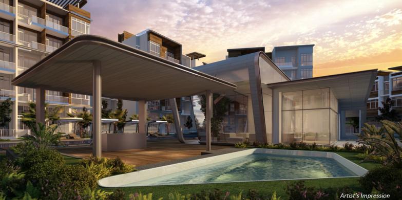 saleapartmentsingapore - waterfront patio