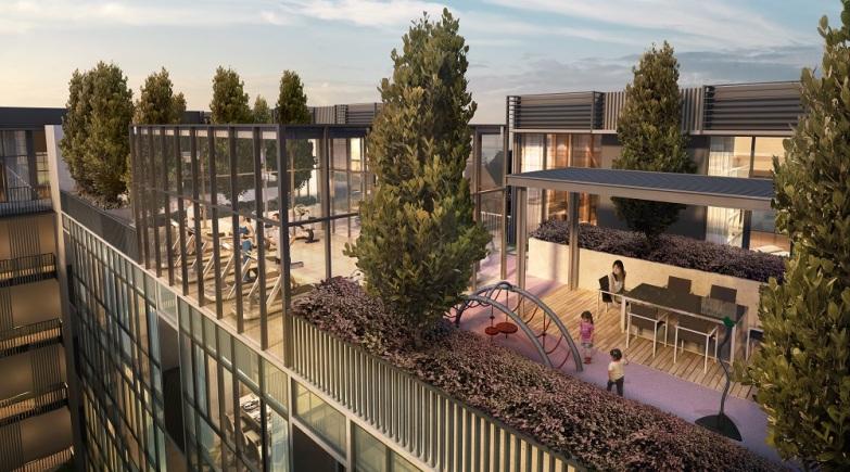 罕见的综合住宅和商业项目,直接连接地铁,永久地契:Bijou