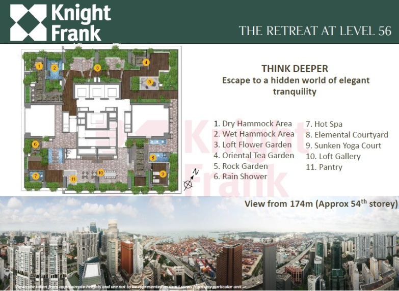saleapartmentsingapore_Sky Suites the retreat at level 56