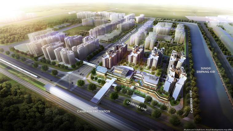 saleapartmentsingapore_brownstone_canberra-plaza-aerial-view